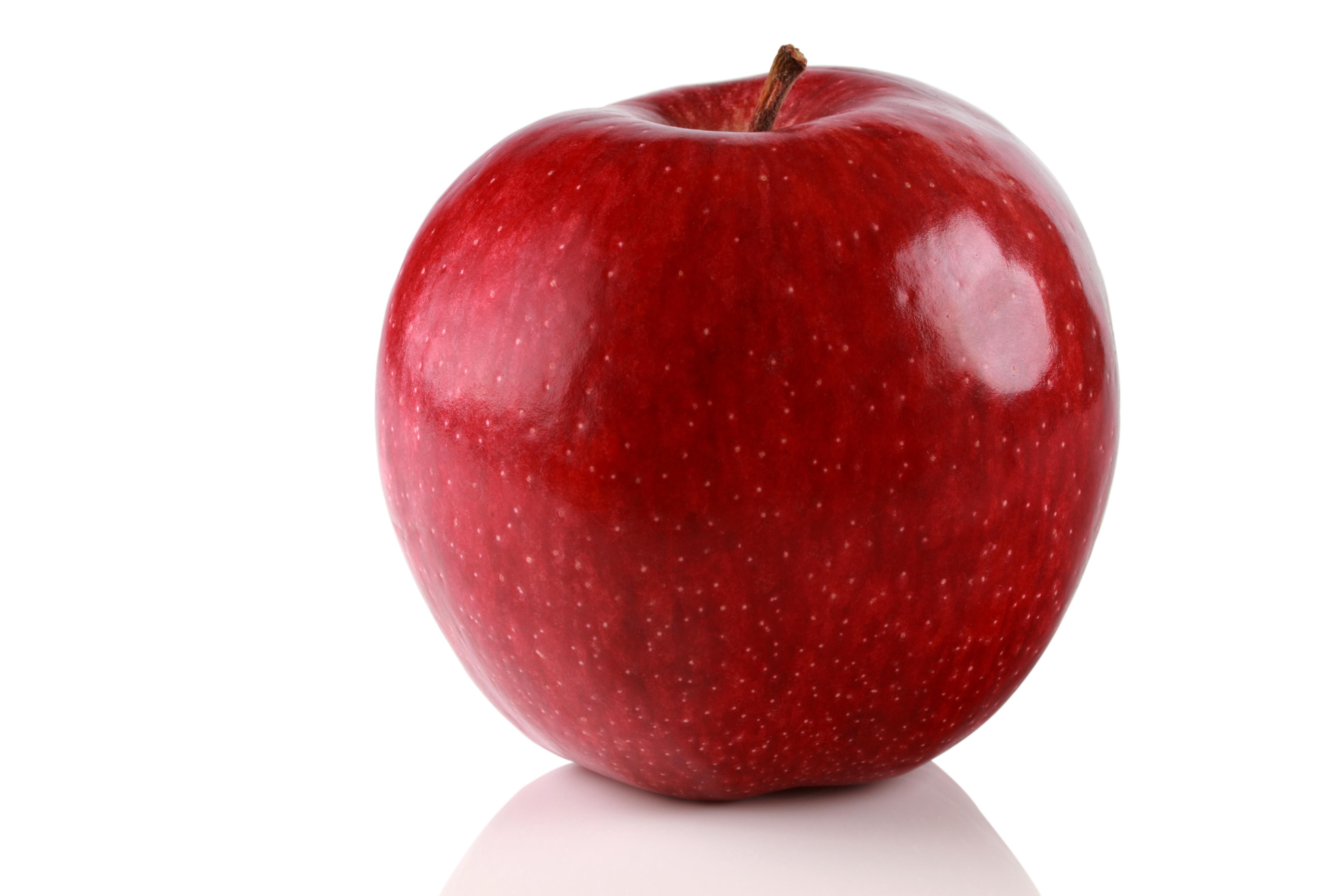 「你好可爱,脸都像苹果一样红通通的!