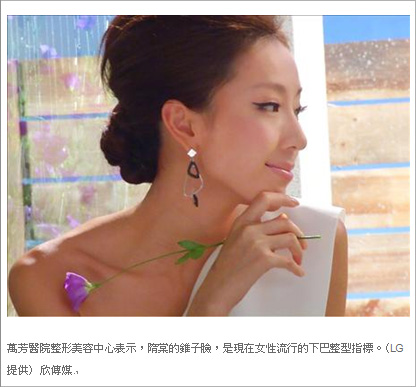 隋棠錐子臉流行 黃俊源醫師